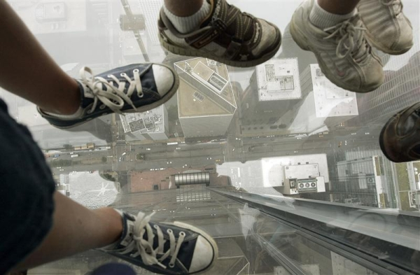 sears tower- ledge-chicago-tuttacronaca