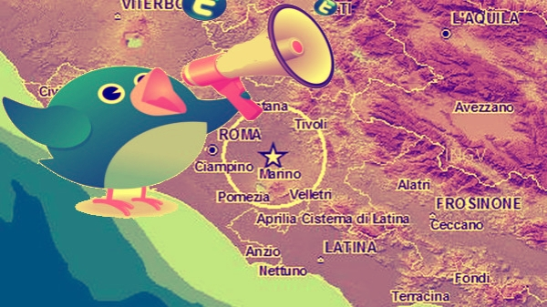 twitter-terremoto-roma- tuttacronaca