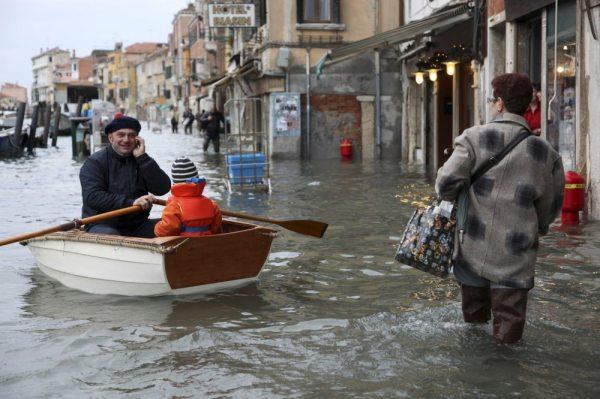acqua, alta, venezia,tuttacronaca
