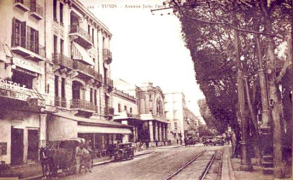 avenue-Jules-Ferry -tunis-claudia-cardinale-tuttacronaca