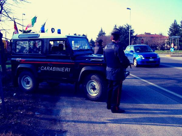 Carabinieri posto di blocco_tuttacronaca-kosovaro