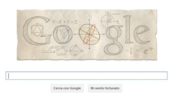 Eulero-doodle-di-google-nel-306°anno-dalla-nascita