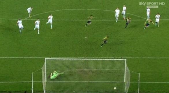 Fener-Lazio 1-0 tuttacronaca