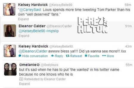 Louis spende così tanto tempo a twittare di Tom che si capisce che è proprio il suo benemerito fan