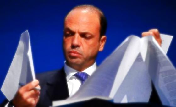 alfano confuso-ministro interno-magistratura-tuttacronaca