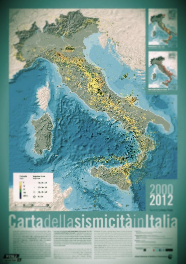 carta della sismicità-tuttacronaca