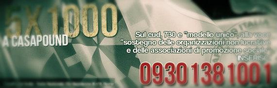 casapound 5x1000-tuttacronaca