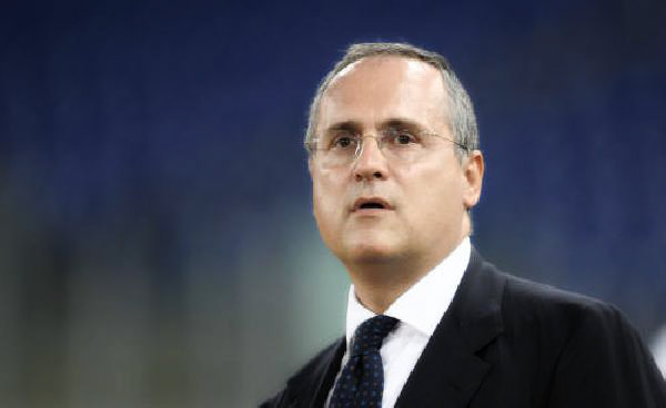 claudio lotito-report