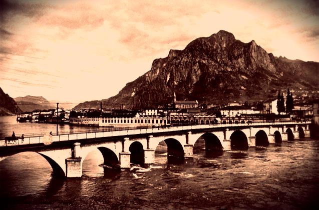 Il ponte storico di lecco a rischio crollo tuttacronaca for Piani di fondazione del ponte