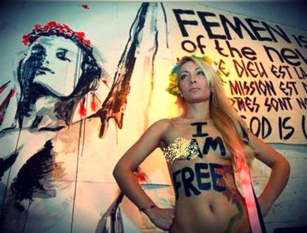 FEMEN-merkel