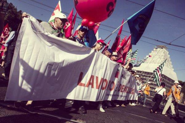 manifestazione-sindacati-roma