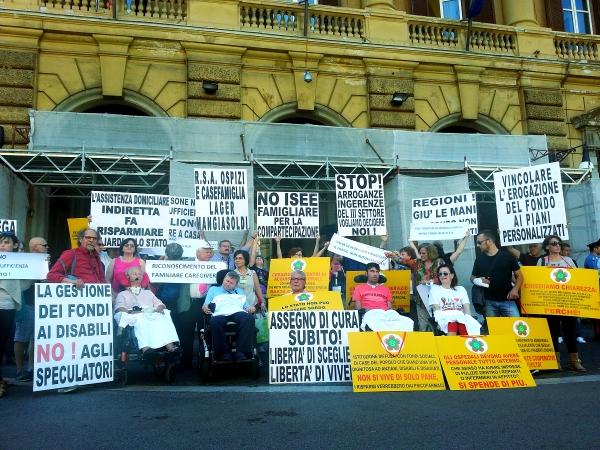 sit-in-disabili-ministero-economia-tuttacronaca