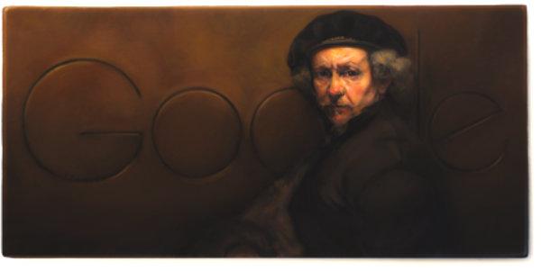 rembrandt_van_rijns_407th_birthday-doodle-google-tuttacronaca