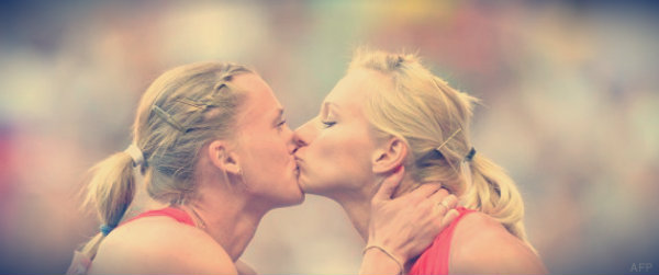 atlete-russe-bacio-tuttacronaca