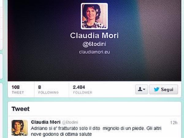 claudia-mori-tweet-tuttacronaca
