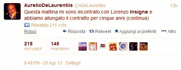 insigne-delaurentiis-twitter-tuttacronaca