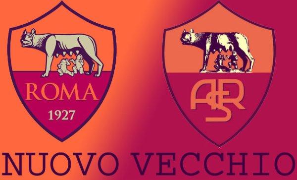Nuovo-e-vecchio-logo-Roma-tuttacronaca