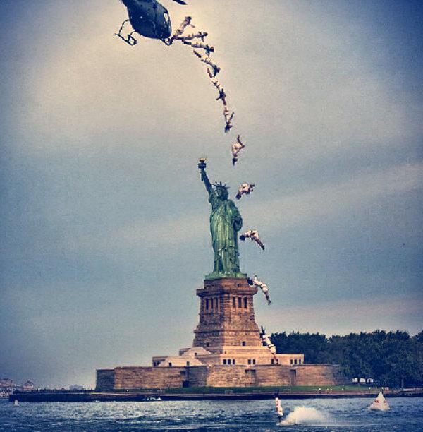 Orlando Duque-new york-statua della libertà-tuttacronaca