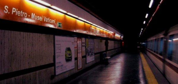 OTTAVIANO-interruzione-servizio-metro-linea-a-roma-tuttacronaca