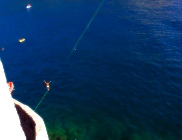 porto venere-liguria-slacklining-tuttacronaca