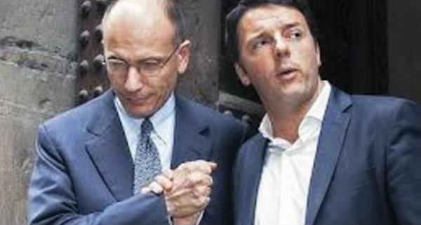 Renzi-Letta-tuttacronaca