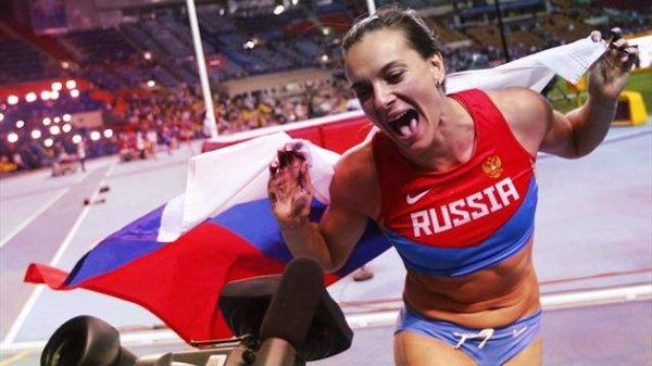 russia-tuttacronaca- Yelena Isinbayeva-sport-piras