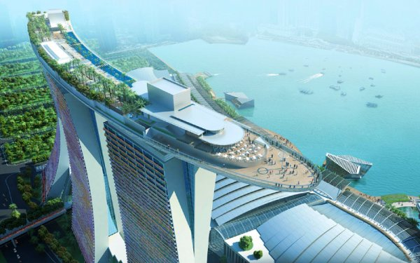 Sky Park Marina-singapore-tuttacronaca