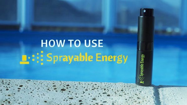 Sprayable Energy-tuttacronaca