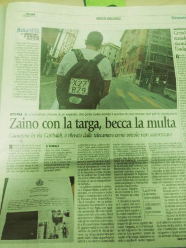 -targa-zaino-tuttacronaca