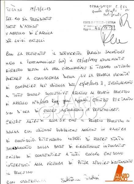 Melania:Parolisi scrive a Corte appello,'condanna infondata'