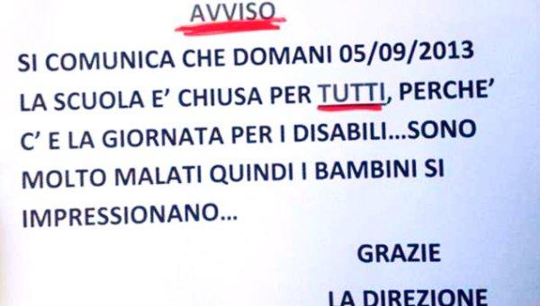 cartello_giornata_disabili_casamicciola-ischia-shock-tuttacronaca