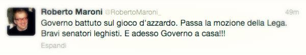maroni-gioco-azzardo-twitter-tuttacronaca