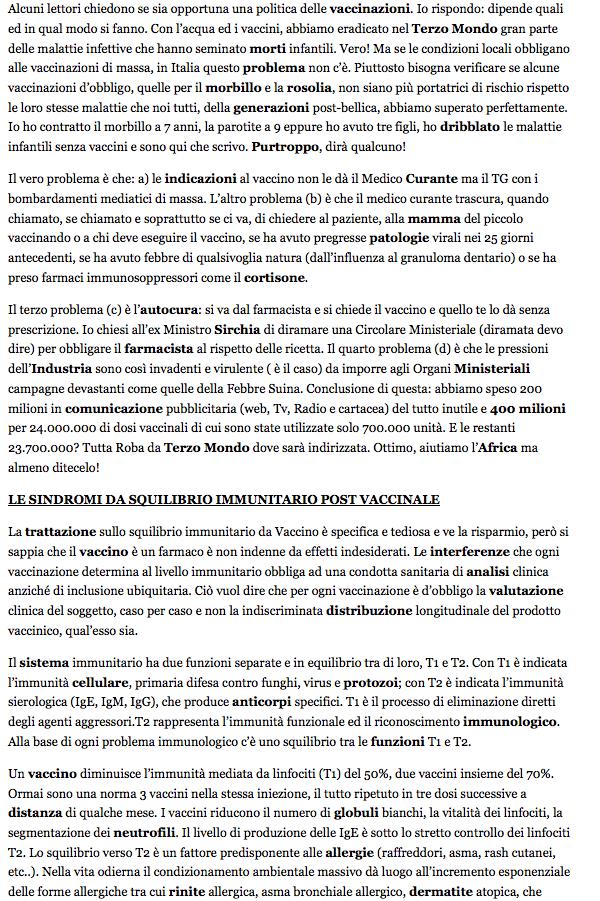 SHOCK MONDIALE, cancro trasmesso nei vaccini? Lo ammette l'azienda  (4/6)