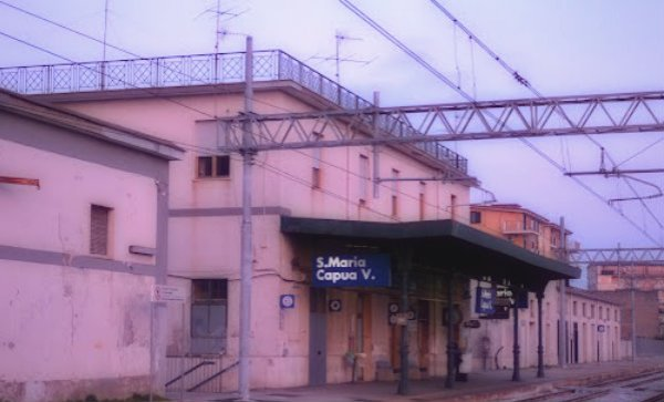 stazione-Santa Maria Capua Vetere-tuttacronaca