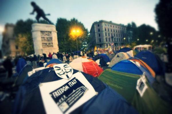 acampada-roma-tuttacronaca
