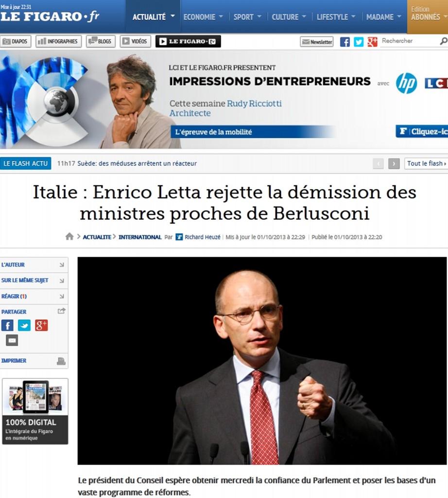 Enrico Letta Twitter: Il Cavaliere Umiliato, Così Berlusconi E L'Italia Sui