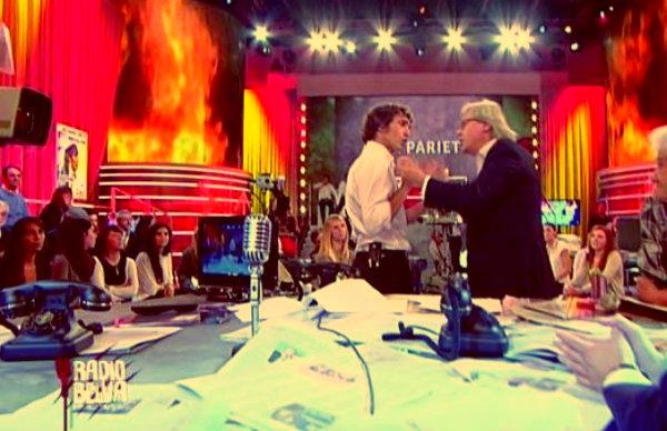 Giuseppe Cruciani e David Parenzo-radio belva-vittorio sgarbi-tuttacronaca