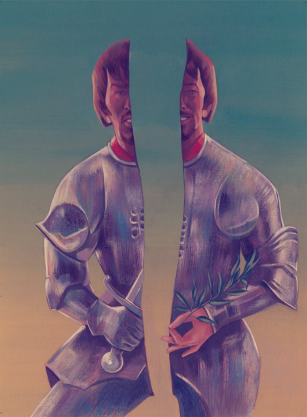 il cavaliere dimezzato-tuttacronaca
