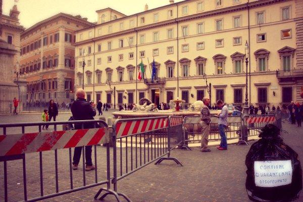 Palazzo Chigi-giovaninni-disoccupato-inoccupabile-tuttacronaca