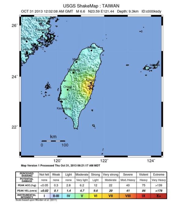 shake-map-taiwan