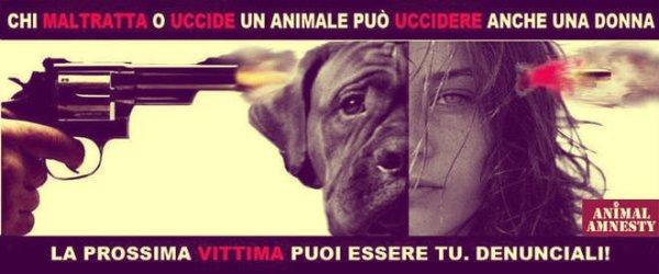 donna-cane-animalisti-manifesto-shock-tuttacronaca