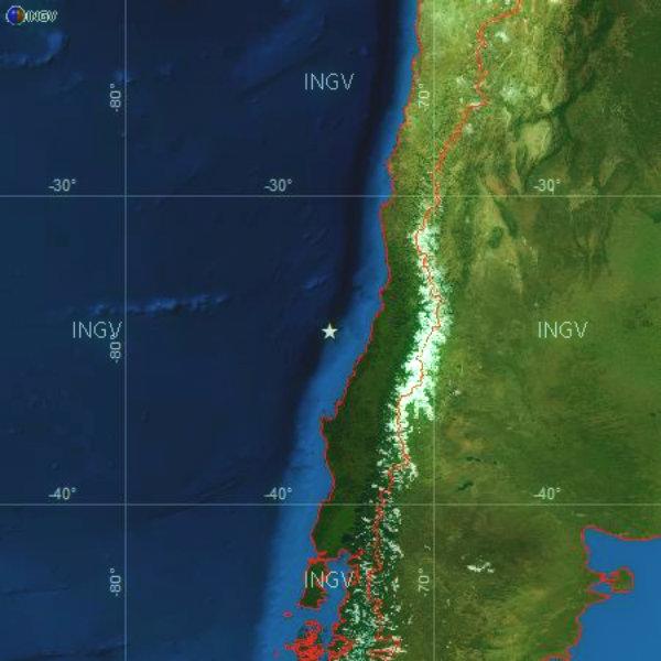 mappa-cile-terremoto-sisma-tuttacronaca