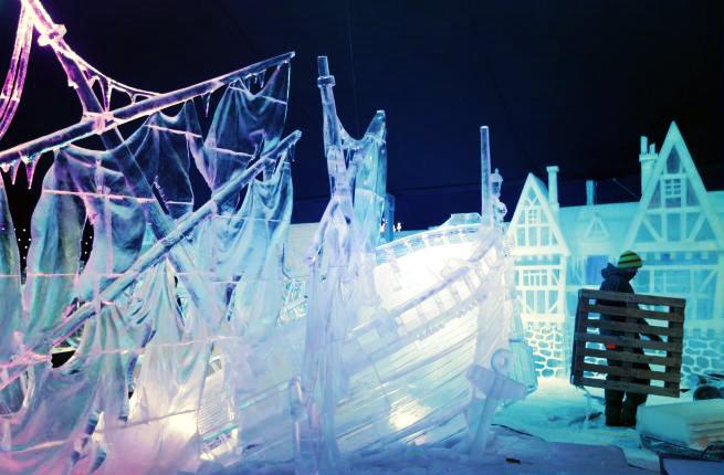 Snow and Ice Sculpture-tuttacronaca