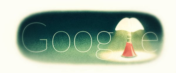 aulenti_lampada-doodle-google-tuttacronaca
