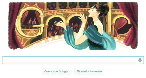 doodle-maria-callas-tuttacronaca