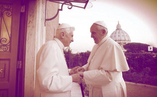 papa-francesco-ratzinger-tuttacronaca