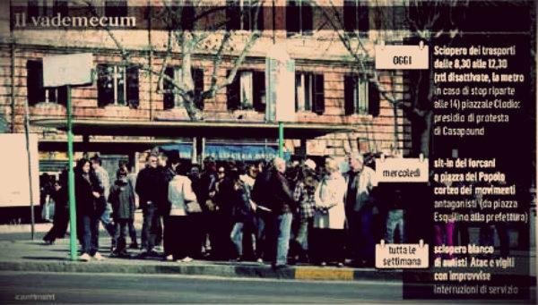 scioperi-roma-tuttacronaca