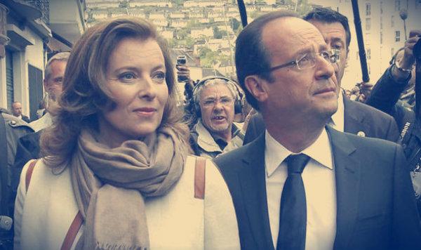 Francois-Hollande-Valerie-Trierweiler-tuttacronaca