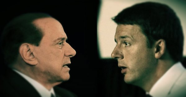 Berlusconi-e-Renzi-tuttacronaca