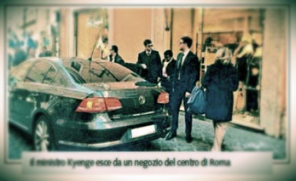cécile-kyenge-auto-blu-shopping-tuttacronaca